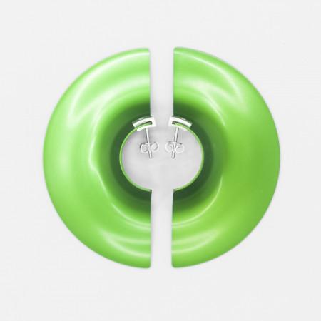 Galactic fülbevaló nagy zöld