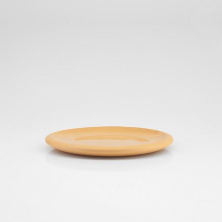 Desszertes tányér pasztell narancs