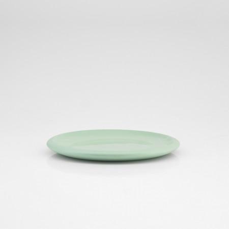 Desszertes tányér pasztell zöld
