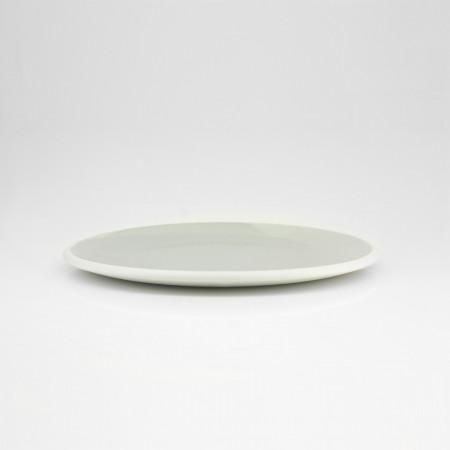 Nagy tányér pasztell szürke